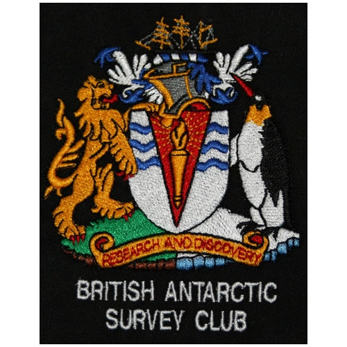 BASC Embroidered Badge