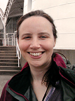 BAS Club Committee member, Alexandrea Gaffikin