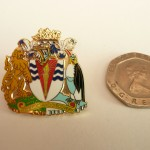 BAS Club lapel badge